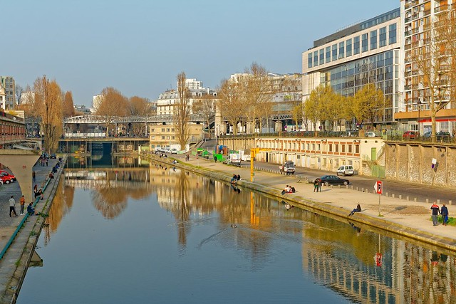 Paris / Canal Saint Martin / Quai de Valmy