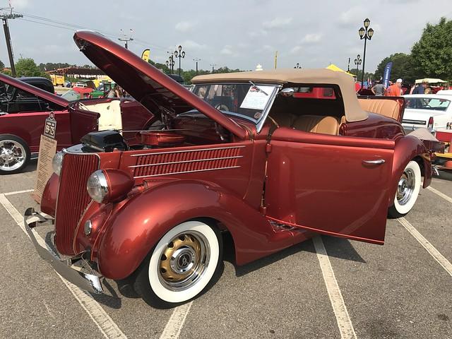 Goodguys 3rd North Carolina Nationals - 1936 Ford Convertible