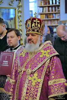Литургия в Покровском соборе 176