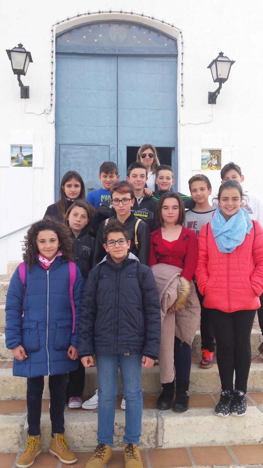 (2017-03-31) - Visita ermita alumnos Yolanda, profesora religión Virrey Poveda - Marzo -  María Isabel Berenguer Brotons (10)