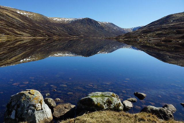 Reflecting on Loch Callater