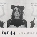 BOUNCE Panda skin appliers for mesh heads and bodies coming soon