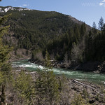 Middle Fork Flathead River from South Boundary Trail