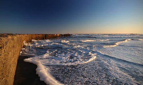 landscape coastal sunset patea pateabeach beach taranaki seawall