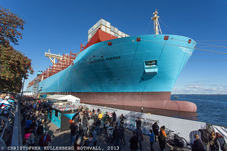 Majestic Maersk | by Christopherkr