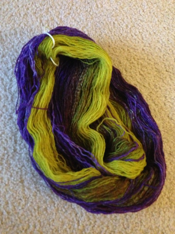 My treat from Knitwhits, such pretty colors!