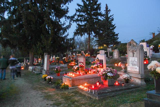 Tab, Hungary - All Saints' Day 2013 - 12
