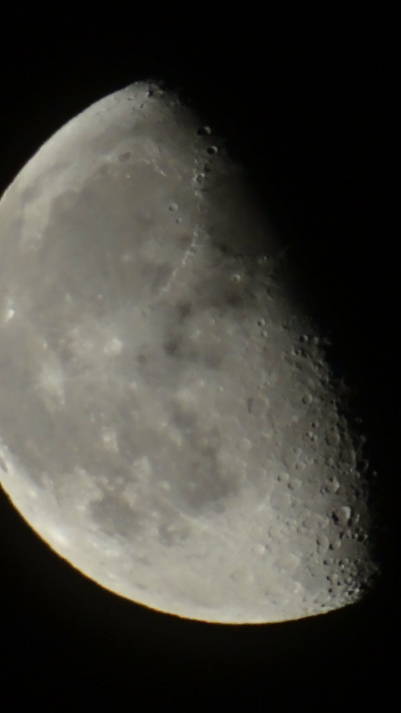 Von Anbeginn der Mond im Weltenplan der Erde noch umfangen zukunftslos vom Heut, rafft sie an sich, was die Stunde beut, und doch hebt sie überm Wust das Haupt, da sie schwärmend noch an Ewiges glaubt 0300