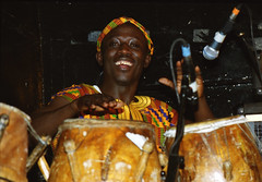 Mac Tontoh Project from Ghana at the Africa Centre London July 2001 067