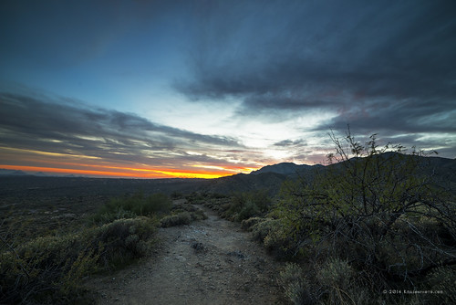 winter sunset arizona sky mountains clouds landscape unitedstates desert path cavecreek tontonationalforest searskayruins