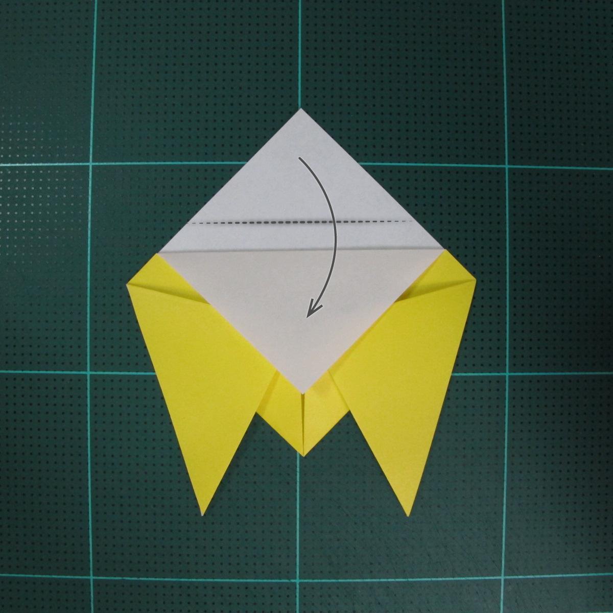 วิธีพับกระดาษเป็นรูปจั้กจั่น (Origami Cicada) 005