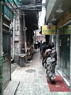 Les saveurs d'Afrique in a Chinese urban village   by Roberto Castillo (@castillorocas)