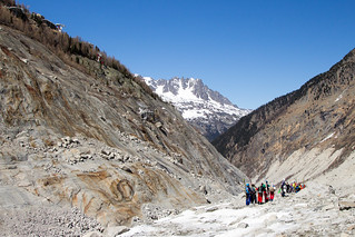 Exiting the Mer de Glace in the Vallée Blanche | by angelatravels11