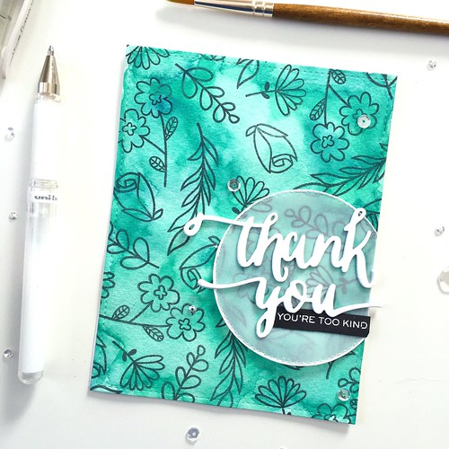 Thank you card | by Kimberly Toney