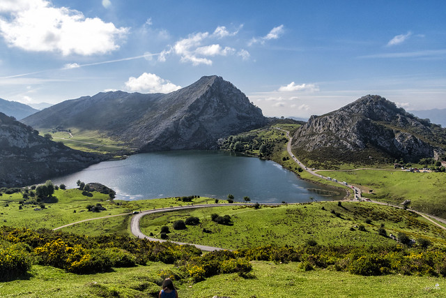 Lago Enol, Covadonga, Asturias, España