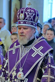 Литургия в Покровском соборе 158