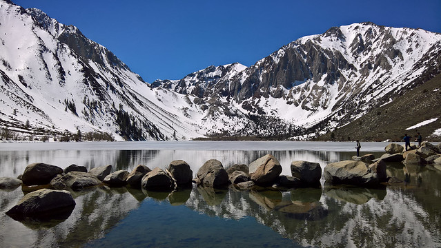 Convict Lake Defrosting