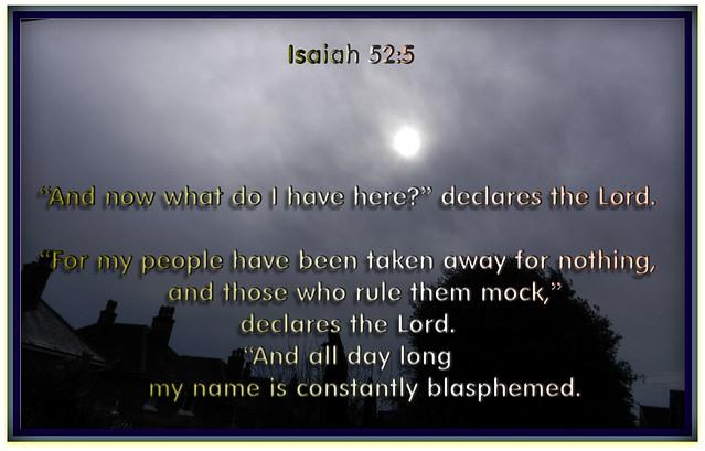 Isaiah 52:5