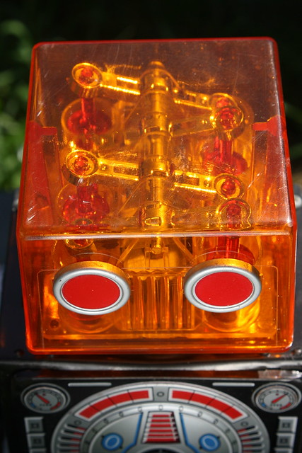 Vintage Piston Robot By Horikawa