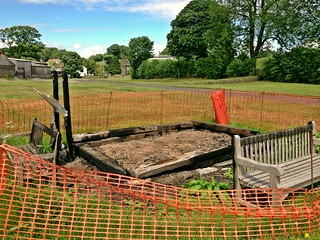 The sad remnants of Priddy hurdle stall, destroyed by arson | by William Parsons Pilgrim