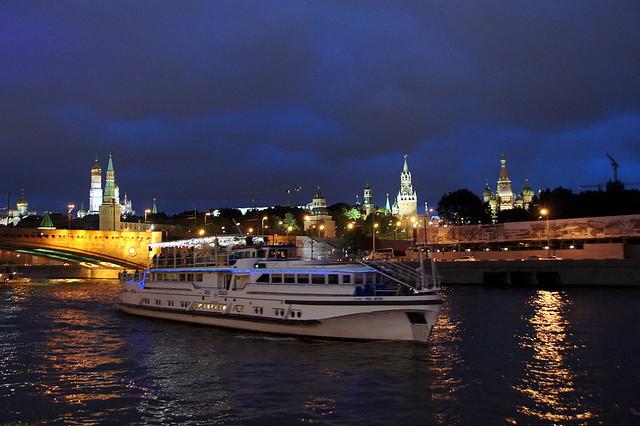 Moscou, soirée d'été