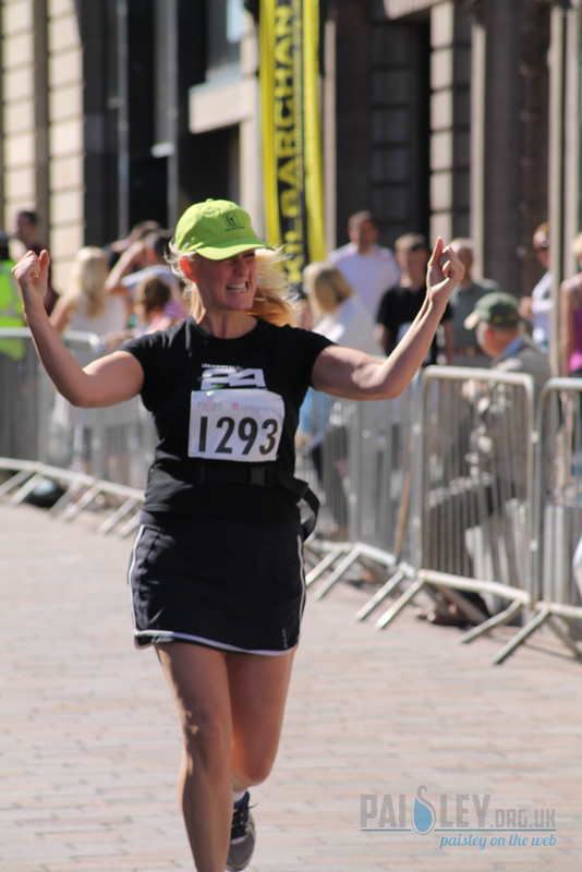 Paisley 10k Finishing Line
