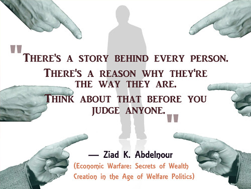 ziadkabdelnour Quotes- A story Behind Every Person   by ziadabdelnour