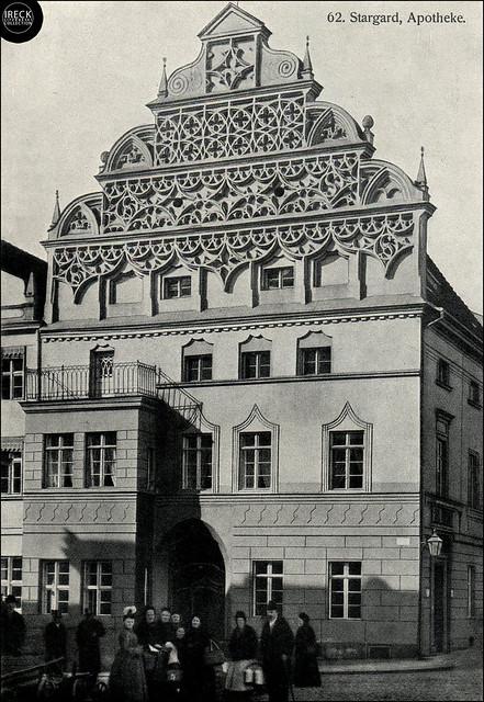 Stargard Szczeciński - Stargard in Pommern, Apotheke / apteka staromiejska