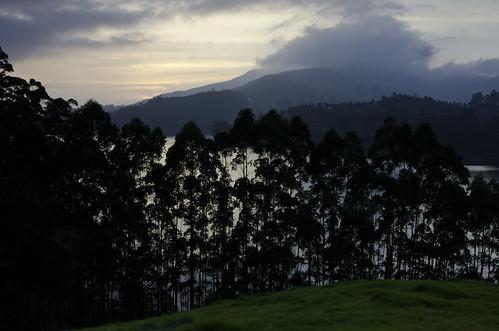 sunset india lake dam kerala reservoir lee filters munnar ndgrad mattupetty