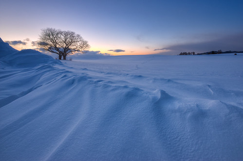 winter sunset sky nature japan clouds landscape hdr chitose