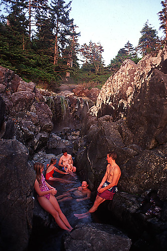 Hot Springs Cove, Maquinna Marine Provincial Park, West Coast Vancouver Island, British Columbia