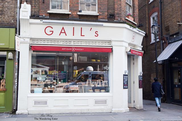 SoHo location of GAIL's Artisan Bakery