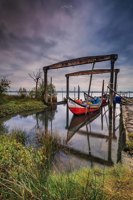 The Shelter dock, Ria de Aveiro
