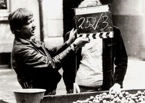 Rainer Werner Fassbinder, shooting Händler der vier Jahreszeiten (1971)