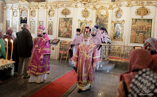 Литургия в Покровском соборе 150