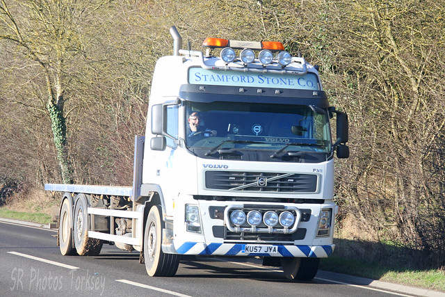 Volvo FM Stamford Stone Co KU57 JYA