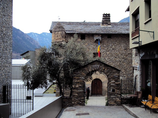 Andorra's old parliament building by bryandkeith on flickr