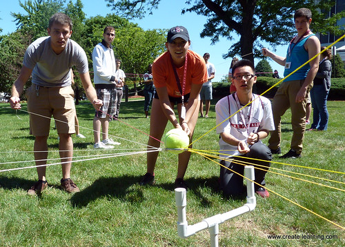 Create-Learning Team Building and Leadership with Stevens University New Jersey (82) | by Mike Cardus Organization Development