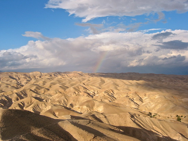 ISRAEL, Rainbow in the desert