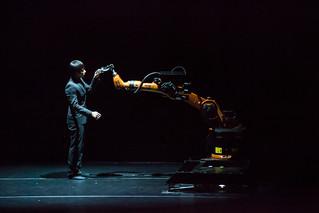 Huang Yi & KUKA | by Ars Electronica