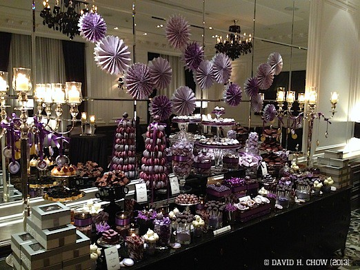 Fabulous Custom Purple Wedding Chocolate Candy Table Themed Custom Download Free Architecture Designs Embacsunscenecom