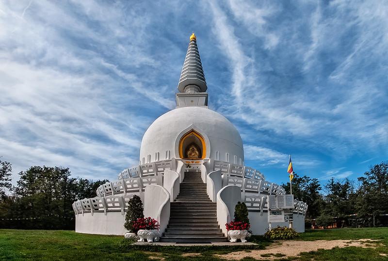 The Peace Stupa of Zalaszanto