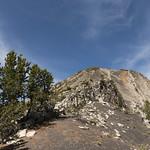 Climbing Electric Peak