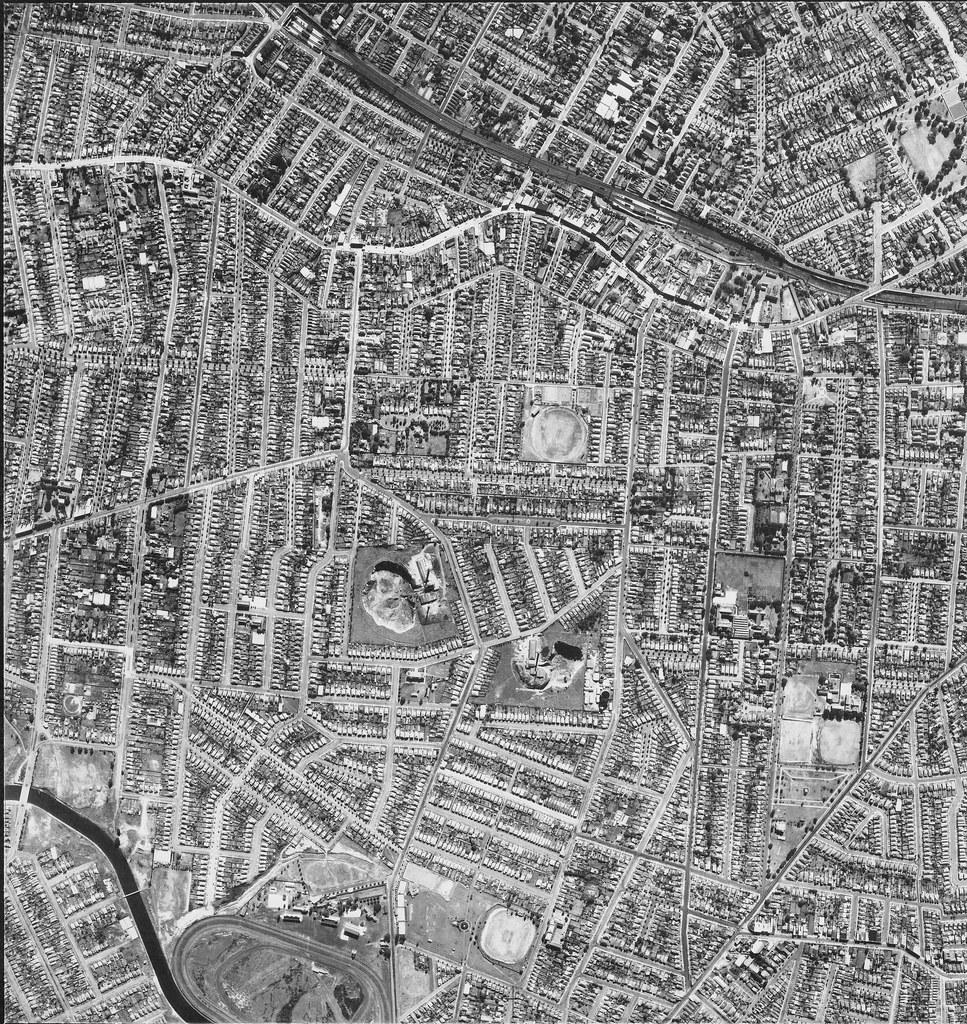 Croydon, Ashfield & Ashbury 1951 - Sydney aerial photo
