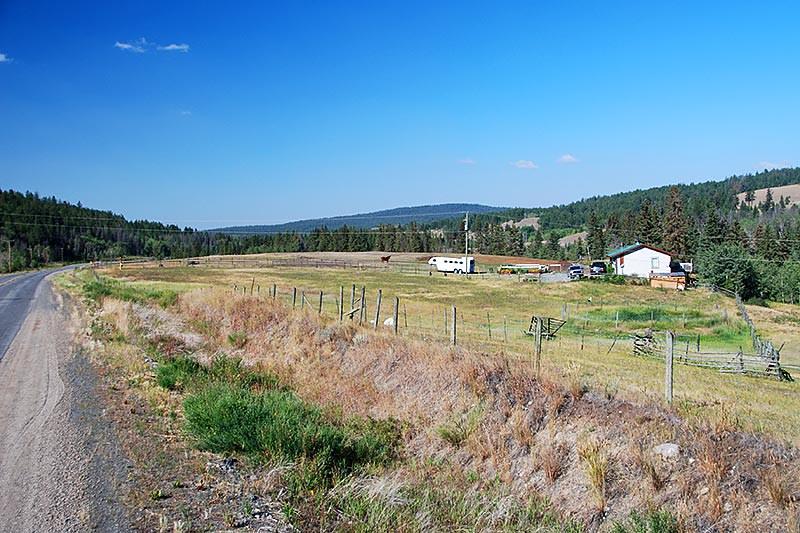 Highway 20 West of Riske Creek, Chilcotin, British Columbia