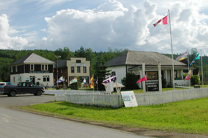 Vanderhoof Museum, Vanderhoof, Yellowhead Highway 16, Nechako Valley, Northern British Columbia, Canada