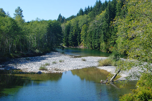 Harris Creek near Port Renfrew, South Vancouver Island, British Columbia, Canada