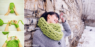 30-minute-infinity-scarf-collage | by crumbscom