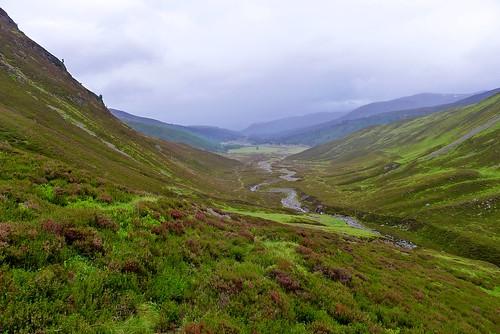 Glen Feshie from Slochd Beag   by Nick Bramhall