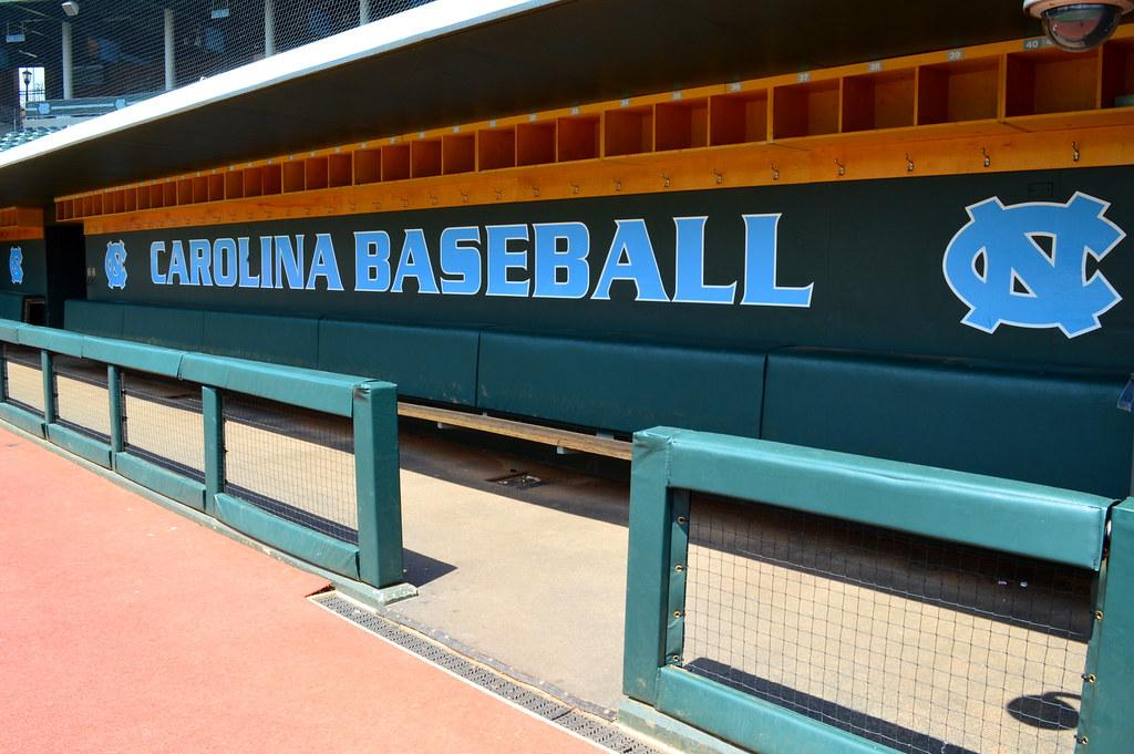 Carolina Baseball Dugout Bryson Field Dugout At Cary C Bo Flickr